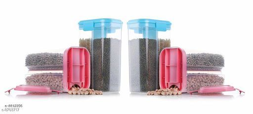 Jars & Container 2section4  *Material* Plastic  *Sizes Available* Free Size *    Catalog Name: Modern Jars & Container CatalogID_1508359 C130-SC1639 Code: 156-8812356-