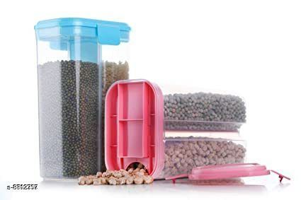 Jars & Container 2section2  *Material* Plastic  *Sizes Available* Free Size *    Catalog Name: Modern Jars & Container CatalogID_1508359 C130-SC1639 Code: 154-8812357-