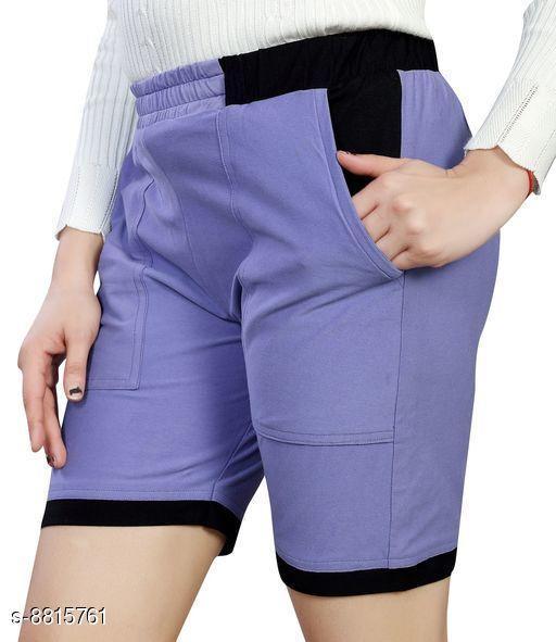 Shorts Stylish Women Shorts  *Fabric* Hosiery Cotton  *Pattern* Solid  *Multipack* 1  *Sizes*  30  *Sizes Available* 30 *    Catalog Name: Designer Feminine Women Shorts CatalogID_1509165 C79-SC1038 Code: 016-8815761-