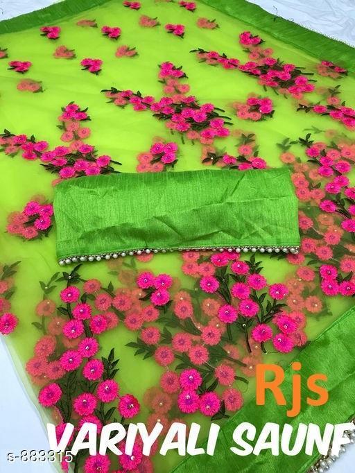 Beautiful Net Saree