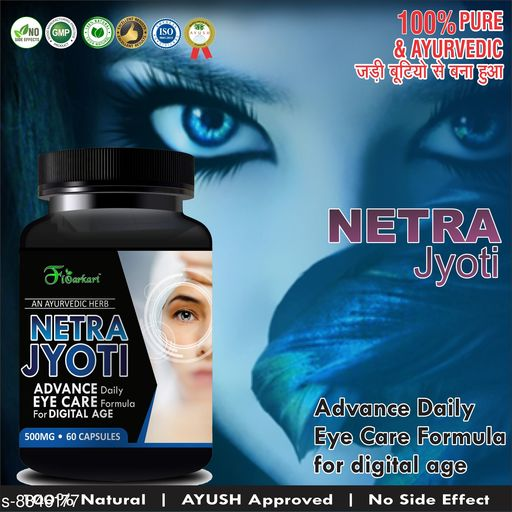 Ayurveda & Herbs Neytra Jyoti Herbal Capsules for Helps To Improve Your Eyes 100% Ayurvedic   *Product Name* Neytra Jyoti Herbal Capsules for Helps To Improve Your Eyes 100% Ayurvedic  *Brand Name* floneytra  *Type* capsules  *Capacity* 60  *Miltipack* 1  *Sizes Available* Free Size *    Catalog Name:  Best Quality Ayurveda & Herbs CatalogID_1516244 C126-SC1312 Code: 937-8846177-