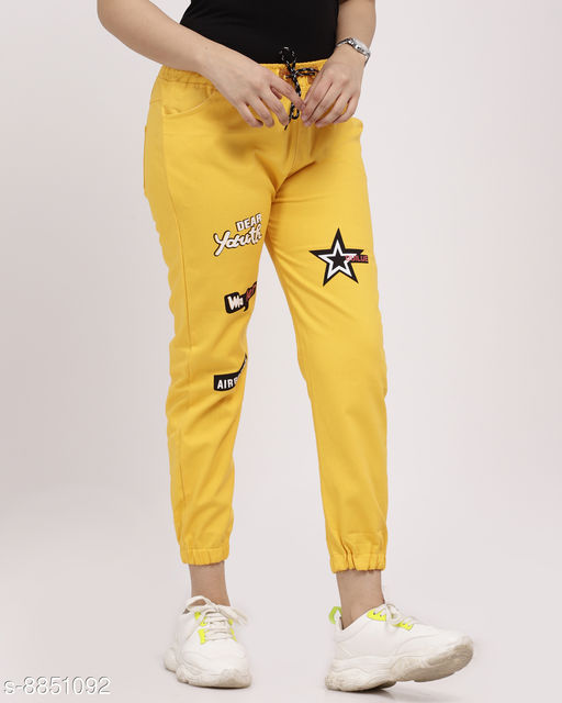 Attractive Star Jogger Jeans for Womens