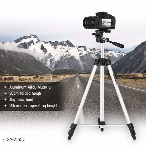 Camera Tripod All in one stand  *Product Name* All in one stand  *Portable* Yes  *Size* Adjustable  *Sizes Available* Free Size *    Catalog Name:  Tripod CatalogID_1518809 C108-SC1411 Code: 967-8856927-
