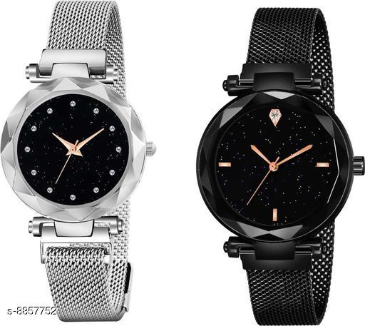 Magnet Collection Watches Girl Watch Analog Watch