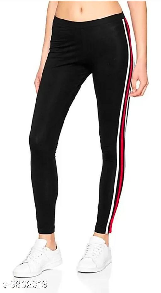 women's side stripped ankle length jegging/legging/lower/yoga pant/casuall pant