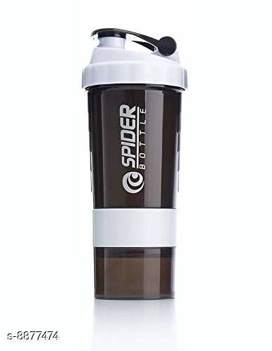 Bmax 3 In 1 Shaker Bottle 500 ML for Gym White