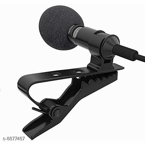 Mobone ® Digital Noise Cancellation Clip Collar Mic Condenser for YouTube Video   Interviews   Lectures Travel Videos Mike for Mobile