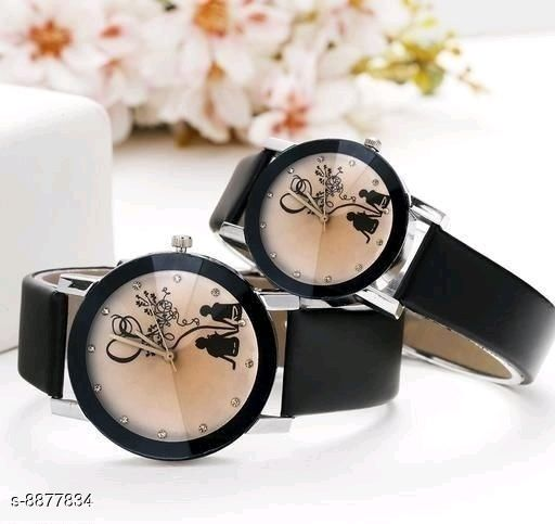 MEN'S AND WOMEN'SLEATHER WATCH COMBO