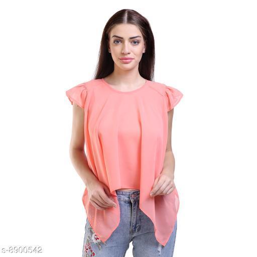Tops & Tunics Tops & Tunics  *Fabric* Chiffon  *Pattern * Printed / Solid  *Sizes*   *S (Top Bust Size* 36 in, Top Length Size  *M (Top Bust Size* 38 in, Top Length Size  *L (Top Bust Size* 40 in, Top Length Size  *XL (Top Bust Size* 42 in, Top Length Size  *Sizes Available* S, M, L, XL *    Catalog Name: Fancy Feminine Women Tops & Tunics CatalogID_1528736 C79-SC1020 Code: 132-8900542-