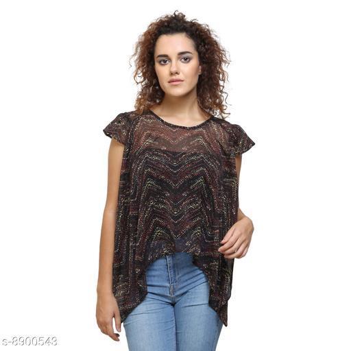 Tops & Tunics Tops & Tunics  *Fabric* Chiffon  *Pattern * Printed / Solid  *Sizes*   *S (Top Bust Size* 36 in, Top Length Size  *M (Top Bust Size* 38 in, Top Length Size  *L (Top Bust Size* 40 in, Top Length Size  *XL (Top Bust Size* 42 in, Top Length Size  *Sizes Available* S, M, L, XL *    Catalog Name: Fancy Feminine Women Tops & Tunics CatalogID_1528736 C79-SC1020 Code: 132-8900543-