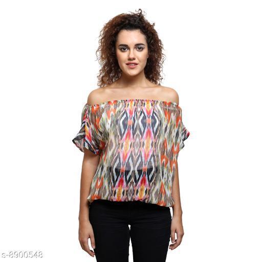 Tops & Tunics Tops & Tunics  *Fabric* Chiffon  *Pattern * Printed / Solid  *Sizes*   *S (Top Bust Size* 36 in, Top Length Size  *M (Top Bust Size* 38 in, Top Length Size  *L (Top Bust Size* 40 in, Top Length Size  *XL (Top Bust Size* 42 in, Top Length Size  *Sizes Available* S, M, L, XL *    Catalog Name: Fancy Feminine Women Tops & Tunics CatalogID_1528736 C79-SC1020 Code: 132-8900548-