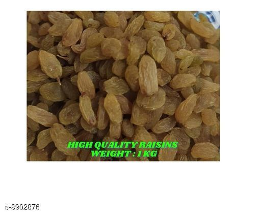 Dry Fruits and Sweets Gifts Trendy Dry Fruit   *Product Name* Raisins Kismis  *Product Type* Dry Fruits  *Multipack* 1  *Size* Free Size  *Sizes Available* Free Size *    Catalog Name: Trendy Dry Fruit  CatalogID_1529281 C128-SC1319 Code: 555-8902876-