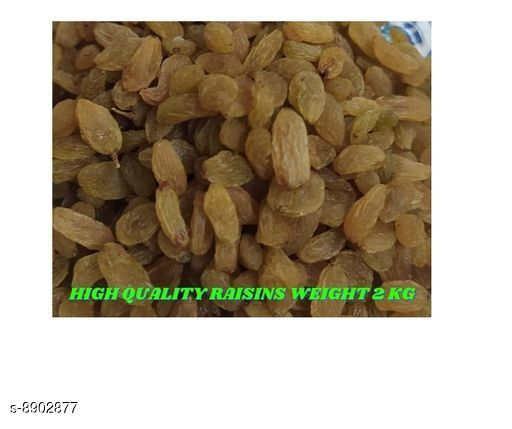 Dry Fruits and Sweets Gifts Trendy Dry Fruit   *Product Name* Raisins Kismis  *Product Type* Dry Fruits  *Multipack* 1  *Size* Free Size  *Sizes Available* Free Size *    Catalog Name: Trendy Dry Fruit  CatalogID_1529281 C128-SC1319 Code: 568-8902877-