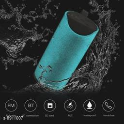 High Bass TG113 Portable Bluetooth Speaker With FM, USB/TF Card Slot