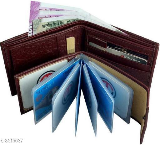 Trendy Men's Rust Leather Wallet