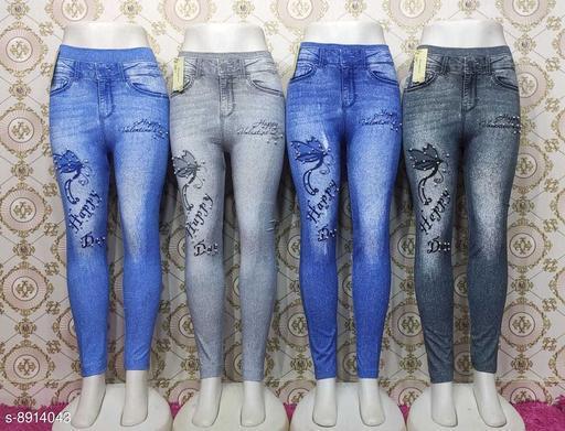 Trendy Stylish Women Jeggings