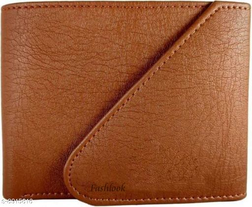 Stylish Men's Orange Wallet