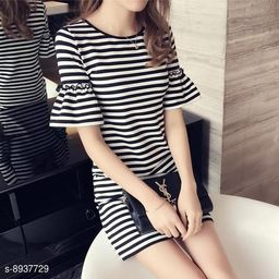 Edgydeal Party Cocktail Short Dress For Women new beautyfull bell sleeves