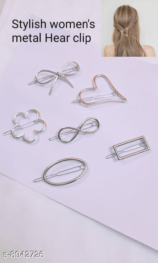 Tools & Accessories Tools & Accessorie Stayeal Women's Metal Hairpin Hair Clip Accessories Styling Jewelry ( pack of 6 pic )  *Material * metal  *Multipack * 6  *Size * Free Size  *Sizes Available* Free Size *    Catalog Name: Tools & Accessorie CatalogID_1538469 C50-SC1250 Code: 642-8942726-