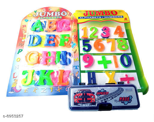 Educational Toys Educational Toys  *Product Name* Educational Toys With Plastic Alphabets, Numbers & Pencil Box  *Material * Plastic  *Type* Toy  *Variation* Free Size  *Multipack* Pack Of 1  *Sizes Available* Free Size *    Catalog Name: Latest Kids Educational Toys For Reading & Learning CatalogID_1541122 C86-SC1293 Code: 523-8953257-
