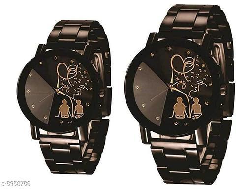 Larest Analogue Quartz Movement Combo Wrist Watches for Ladies & Girls