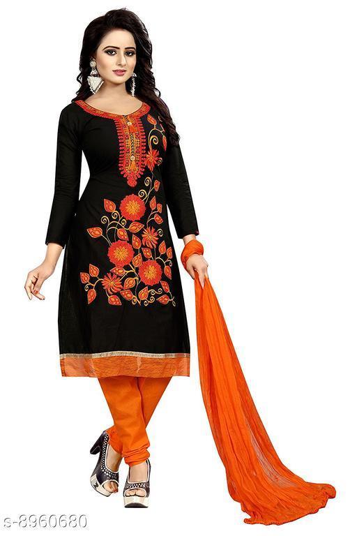 Ethnic Bottomwear - Salwars & Chudidars Beautiful cotton salwar  *Top Fabric* cotton + Top Length  *Bottom Fabric* cotton + Bottom Length  *Dupatta Fabric* Chiffon + Dupatta Length  *Lining Fabric* No Lining  *Type* Un Stitched  *Multipack* Single  *Sizes Available* Free Size *    Catalog Name: Aakarsha Fashionable Women Salwars CatalogID_1542981 C74-SC1017 Code: 055-8960680-