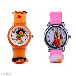 PBarbie - ODora Kids 2 Fancy Watch