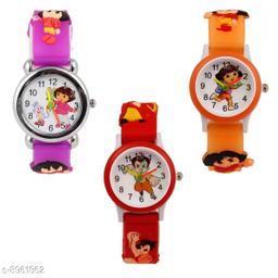 PDora - ODora - RBheem Kids 3 Fancy Watch