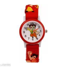Red Chota Bheem Kids 1 Fancy Watch