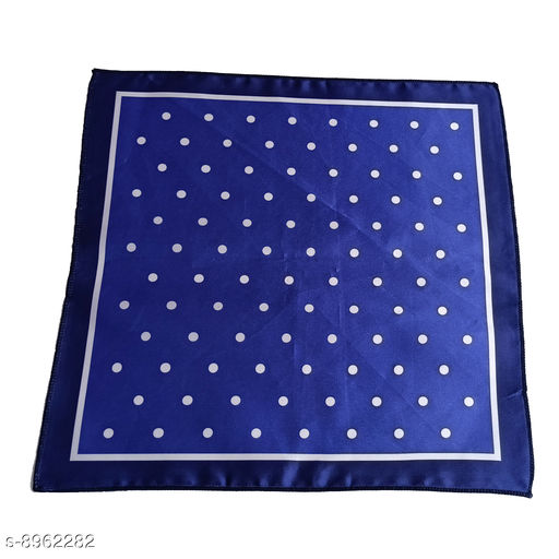 Pocket Squares Pocket Square for Men  *Material* Synthetic  *Multipack* 1 Pcs  *Sizes*  Free Size  *Sizes Available* Free Size *    Catalog Name: Pocket Square for Men CatalogID_1543382 C65-SC1225 Code: 952-8962282-