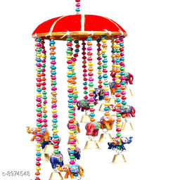 Cliff Craft Elephant Hanging Wind Chimes