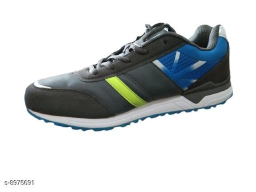 Sports Shoes Sports shoes for men  *Material* Syntethic Leather  *Sizes*  IND-9  *Sizes Available* IND-8, IND-9 *    Catalog Name: Unique Attractive Men Sports Shoes CatalogID_1546737 C67-SC1237 Code: 6871-8975691-