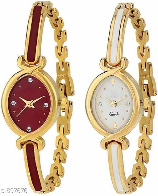 Stylish Women Watches (Pack Of 2 )