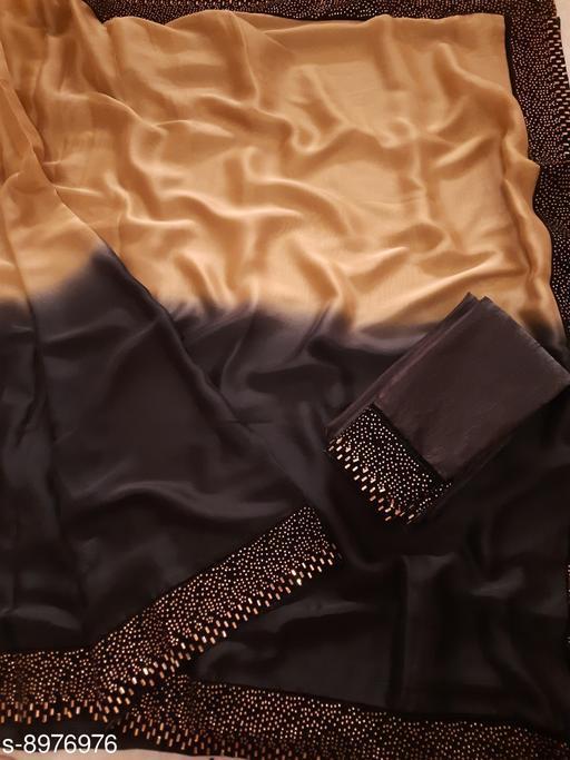 Sarees  Trendy Rangoli Silk Saree  *Saree Fabric* Rangoli Silk  *Blouse* Runnig Blouse Piece  *Blouse Fabric* Banglori Silk  *Pattern* Solid  *Multipack* Single  *Sizes*   *Free Size (Saree Length Size with Blouse Length Size 6.3 m) Saree Fabric* Padding Two Tone Rangoli Silk  *Blouse* Runnig Blouse Piece  *Blouse Fabric* Banglori Silk  *Pattern* Solid  *Multipack* Single  *Sizes*   *Free Size (Saree Length Size with Blouse Length Size 6.3 m) Saree Fabric* Padding Two Tone Rangoli Silk  *Blouse* Runnig Blouse Piece  *Blouse Fabric* Banglori Silk  *Pattern* Solid  *Multipack* Single  *Sizes*  Free Size (Saree Length Size with Blouse Length Size 6.3 m)  *Sizes Available* Free Size *    Catalog Name: Trendy Rangoli Silk Saree CatalogID_1546993 C74-SC1004 Code: 157-8976976-