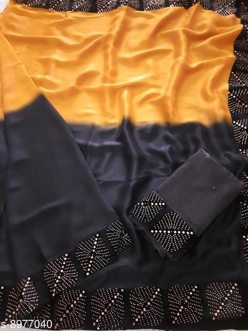 Sarees  Trendy Rangoli Silk Saree  *Saree Fabric* Rangoli Silk  *Blouse* Runnig Blouse Piece  *Blouse Fabric* Banglori Silk  *Pattern* Solid  *Multipack* Single  *Sizes*   *Free Size (Saree Length Size with Blouse Length Size 6.3 m) Saree Fabric* Padding Two Tone Rangoli Silk  *Blouse* Runnig Blouse Piece  *Blouse Fabric* Banglori Silk  *Pattern* Solid  *Multipack* Single  *Sizes*   *Free Size (Saree Length Size with Blouse Length Size 6.3 m) Saree Fabric* Padding Two Tone Rangoli Silk  *Blouse* Runnig Blouse Piece  *Blouse Fabric* Banglori Silk  *Pattern* Solid  *Multipack* Single  *Sizes*  Free Size (Saree Length Size with Blouse Length Size 6.3 m)  *Sizes Available* Free Size *    Catalog Name: Trendy Rangoli Silk Saree CatalogID_1546993 C74-SC1004 Code: 157-8977040-