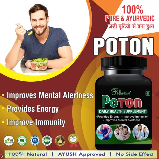 Ayurveda & Herbs flopoton pack of 1  *Multipack *   *Capacity * 60Capsule  *Sizes Available* Free Size *    Catalog Name: Ayurveda & Herbs CatalogID_1547075 C126-SC1312 Code: 887-8977126-