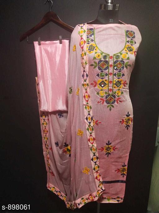 Fancy Chanderi Cotton Suit