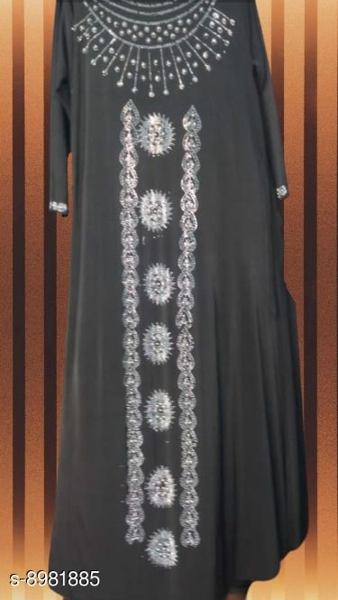 Abaya Designer Islamic wear Abaya  *Sizes*   *Free Size (Bust Size* 47 in, Length Size  *Sizes Available* Free Size *    Catalog Name: Latest Women Abayas & Coats CatalogID_1548155 C74-SC1449 Code: 847-8981885-