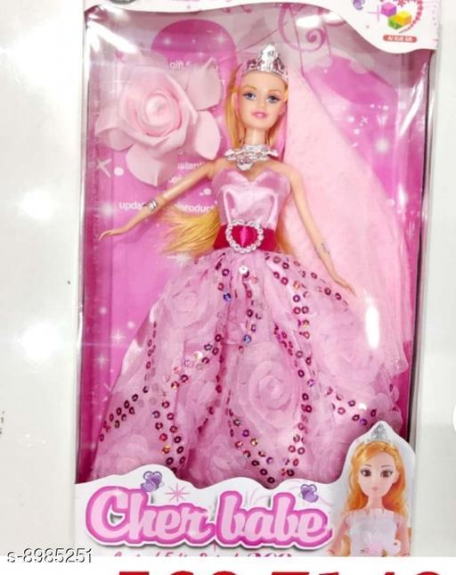 Dolls Dolls toys girls toys kids toys  *Material* PVC  *Multipack* 1  *Sizes*  Free Size  *Sizes Available* Free Size *    Catalog Name: Classy Unisex Dolls CatalogID_1548936 C86-SC1291 Code: 015-8985251-