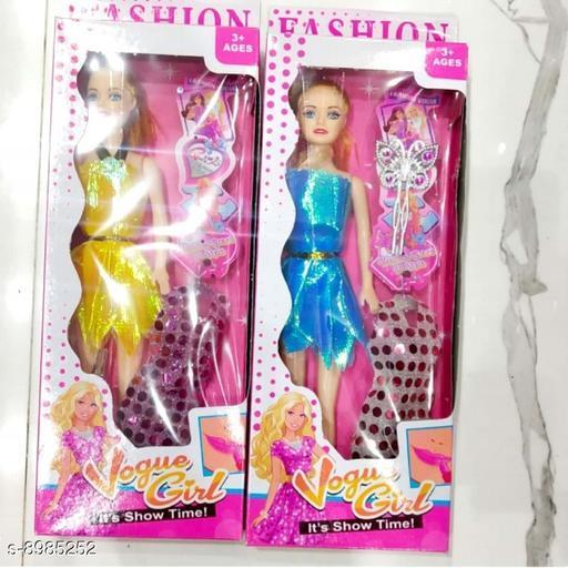 Dolls Dolls toys girls toys kids toys  *Material* PVC  *Multipack* 1  *Sizes*  Free Size  *Sizes Available* Free Size *    Catalog Name: Classy Unisex Dolls CatalogID_1548936 C86-SC1291 Code: 063-8985252-