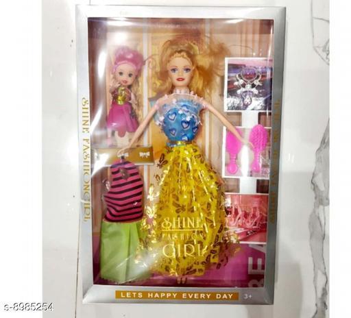 Dolls Dolls toys girls toys kids toys  *Material* PVC  *Multipack* 1  *Sizes*  Free Size  *Sizes Available* Free Size *    Catalog Name: Classy Unisex Dolls CatalogID_1548936 C86-SC1291 Code: 064-8985254-