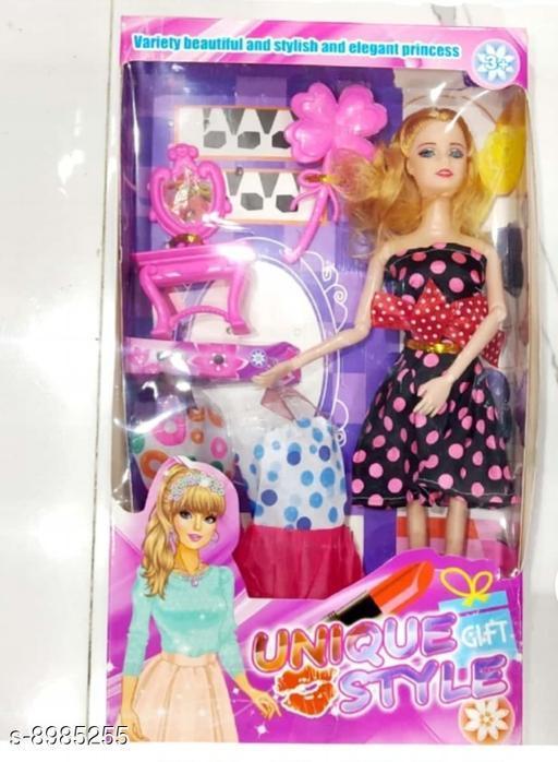 Dolls Dolls toys girls toys kids toys  *Material* PVC  *Multipack* 1  *Sizes*  Free Size  *Sizes Available* Free Size *    Catalog Name: Classy Unisex Dolls CatalogID_1548936 C86-SC1291 Code: 014-8985255-