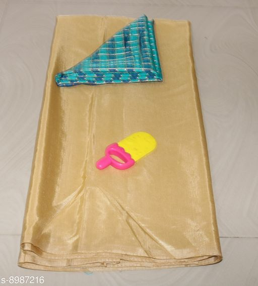Sarees Sana Plan Saree  Blouse Best Quality Saree    *Saree Fabric* Sana Silk  *Blouse* Saree with Multiple Blouse  *Blouse Fabric* Jacquard  *Pattern* Self-Design  *Blouse Pattern* Woven Design  *Multipack* Single  *Sizes*   *Free Size (Saree Length Size* 5.4 m, Blouse Length Size  *Sizes Available* Free Size *    Catalog Name: Charvi Fashionable Sarees CatalogID_1549390 C74-SC1004 Code: 663-8987216-
