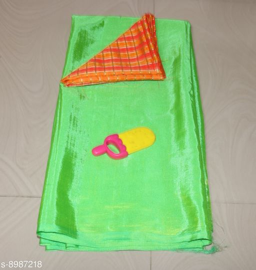 Sarees Sana Plan Saree  Blouse Best Quality Saree    *Saree Fabric* Sana Silk  *Blouse* Saree with Multiple Blouse  *Blouse Fabric* Jacquard  *Pattern* Self-Design  *Blouse Pattern* Woven Design  *Multipack* Single  *Sizes*   *Free Size (Saree Length Size* 5.4 m, Blouse Length Size  *Sizes Available* Free Size *    Catalog Name: Charvi Fashionable Sarees CatalogID_1549390 C74-SC1004 Code: 663-8987218-