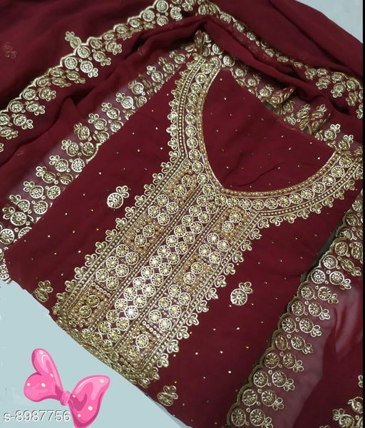 Womens Unstitched Suit & Dress Material