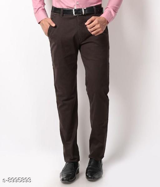 Trendy Mens Formal Trousers