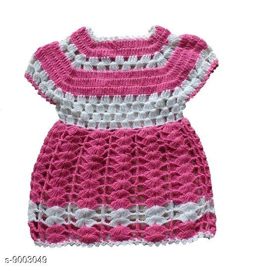 Frocks & Dresses frocks  *Description*  The Creators® Girls Midi/Knee Length Woolen Handmade Frock ( 06-12 Months ). Colour - Pink Size - 06-12 Months SKU - TCFRK03  *Starting Price* Rs.249  *Sizes Available* 6-12 Months *    Catalog Name: frocks CatalogID_1553535 C62-SC1141 Code: 113-9003049-