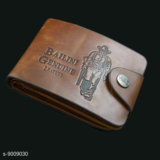 Crazy bailini wallet for men