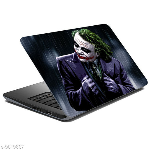 British Terminal® Joker Laptop Skin Fully Waterproof Vinyl Sticker Super Heroes Collection For Dell   Hp   Toshiba   Acer   Asus and All Models (12X16inch) lap5020