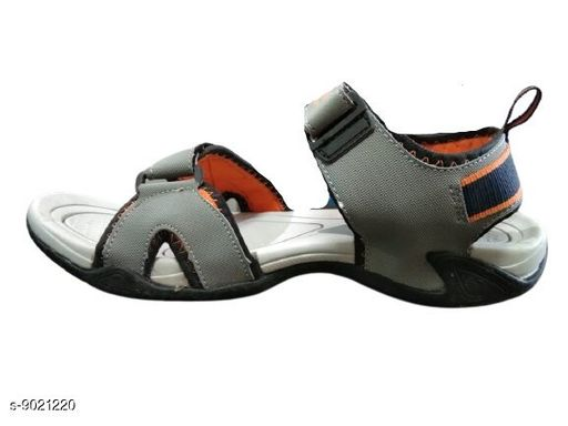 Sandals Unique sandals for men  *Material* Syntethic Leather  *Sizes*  IND-7  *Sizes Available* IND-7 *    Catalog Name: Relaxed Graceful Men Sandals CatalogID_1558046 C67-SC1238 Code: 288-9021220-